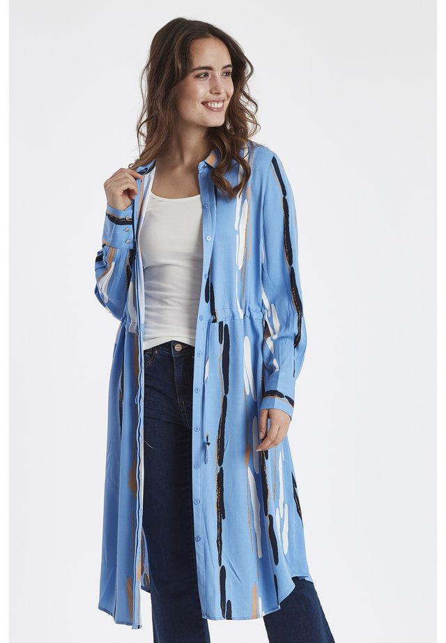 DRINGEBORG - Abito a camicia - della robbia blue
