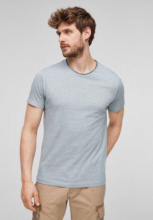 T-shirt basic - grey stripes