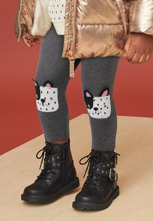 FRENCH BULLDOG  - Leggings - Trousers - grey