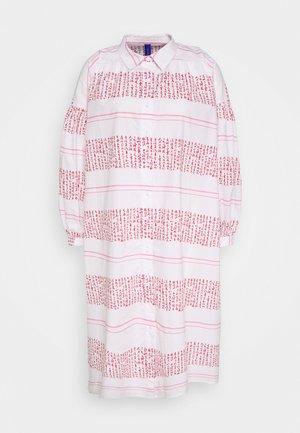 VENUS - Shirt dress - white