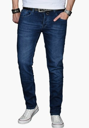 Slim fit jeans - dunkelblau