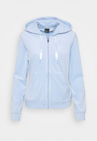 Gina Tricot - CECILIA HOODIE - Zip-up sweatshirt - pop blue - 3