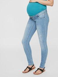MAMALICIOUS - Slim fit jeans - light blue denim - 0