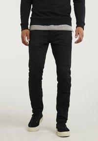 CHASIN' - NISON - Slim fit jeans - black - 0