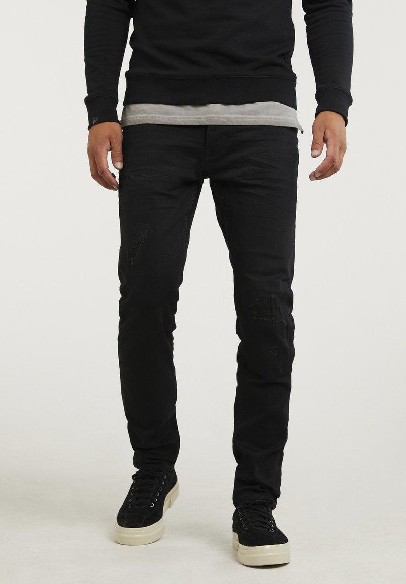 CHASIN' - NISON - Slim fit jeans - black