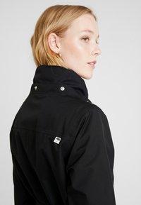 Danefæ København - BORNHOLM RAINCOAT - Waterproof jacket - black - 5