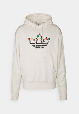 FLORAL TREFOIL UNISEX - Sweatshirt - off white