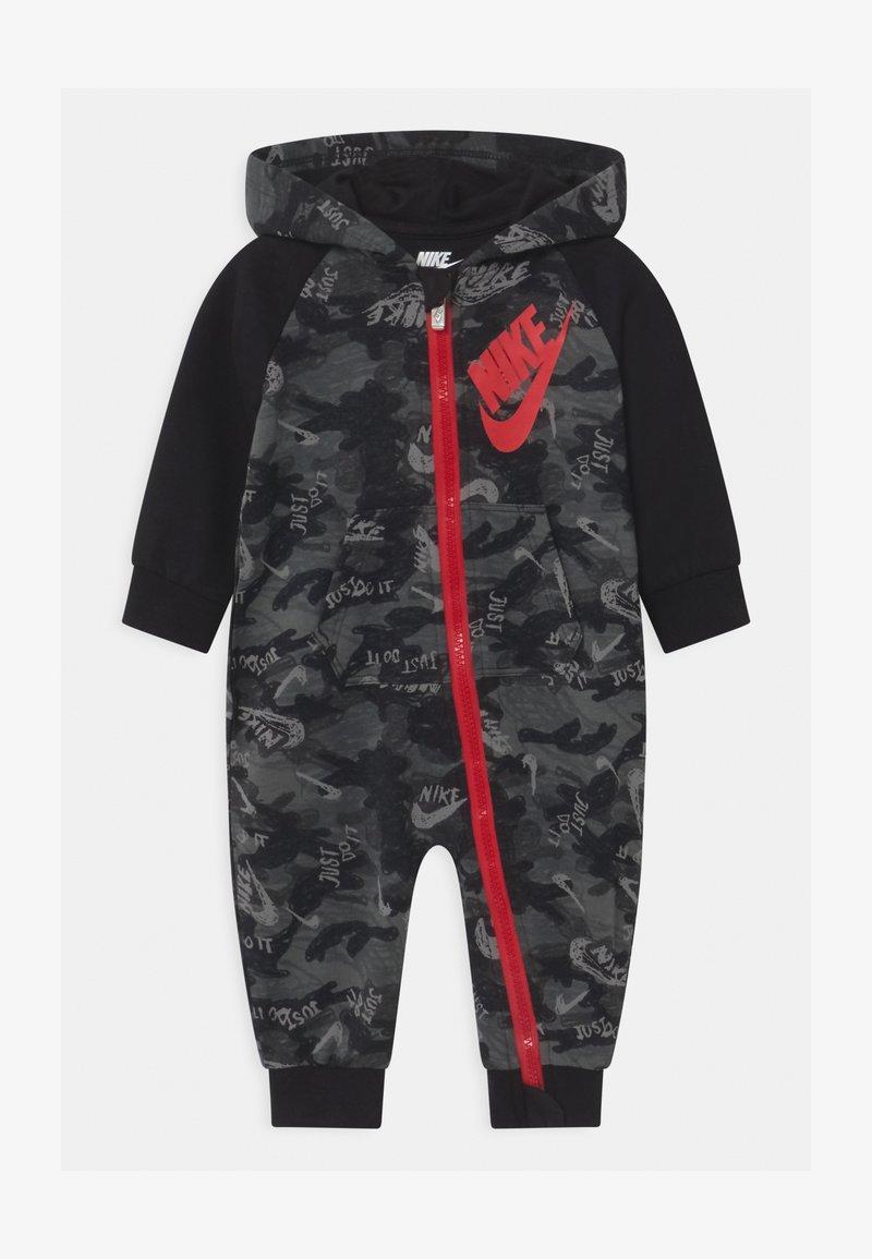 Nike Sportswear - CRAYON CAMO - Overall / Jumpsuit - black