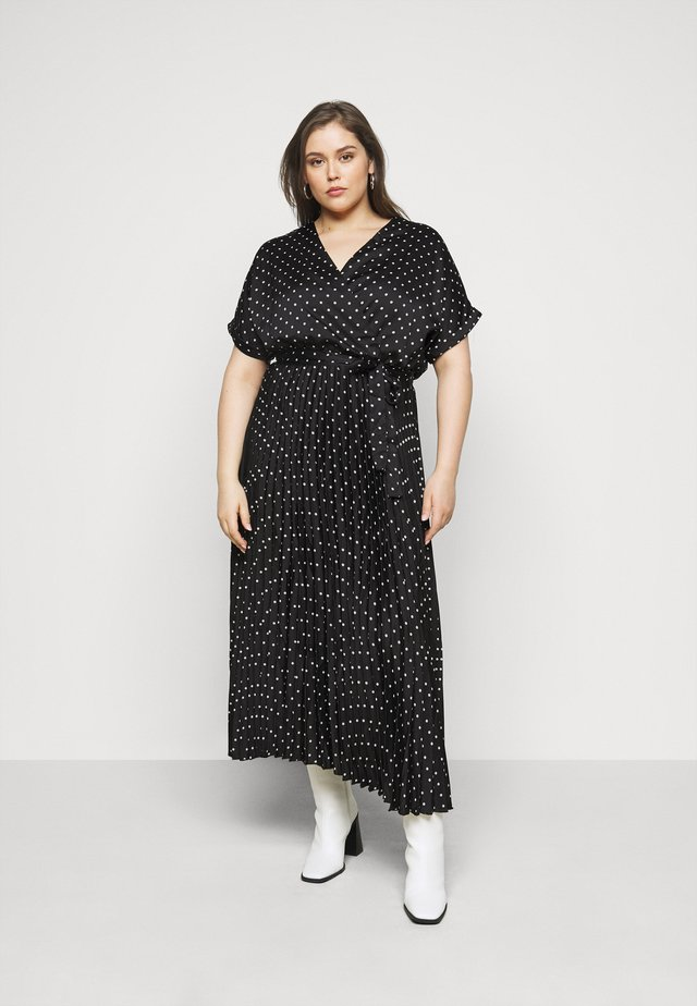 GO PLEATED SPOT - Robe d'été - blue