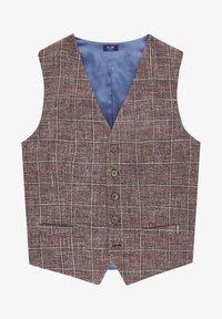 Van Gils - EVION - Suit waistcoat - dark red - 4