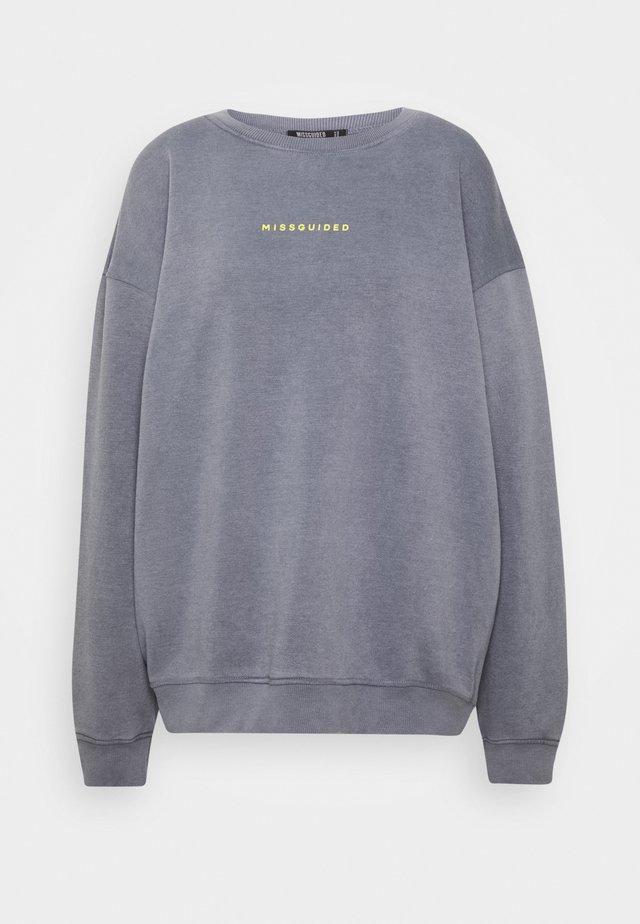 TALL WASHED  - Sweatshirt - grey