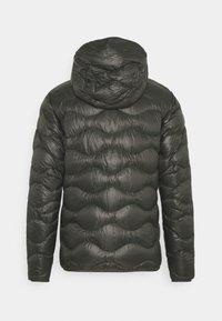 Peak Performance - HELIUM HOOD JACKET - Down jacket - black olive - 1