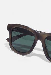 Gucci - UNISEX - Sunglasses - havana/green - 5