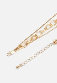 Pieces - PCKETHIA COMBI NECKLACE - Smykke - gold-coloured - 1