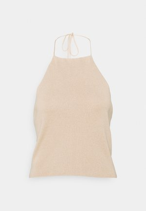 MATIAMU BY SOFIA DEEP BACK - Top - beige