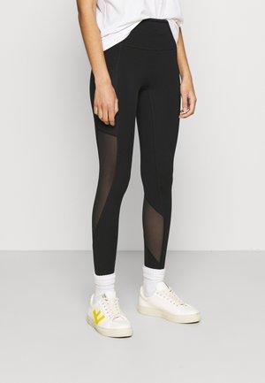 MELODY POCKET - Leggings - Trousers - true black