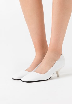 CAMBRA - Classic heels - bianco