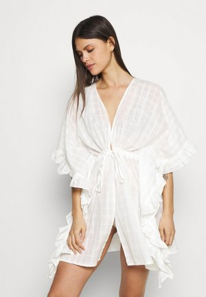ONLLIRKE BEACH CARDIGAN - Strandaccessories - cloud dancer