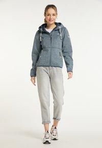 Schmuddelwedda - Light jacket - rauchmarine melange - 1
