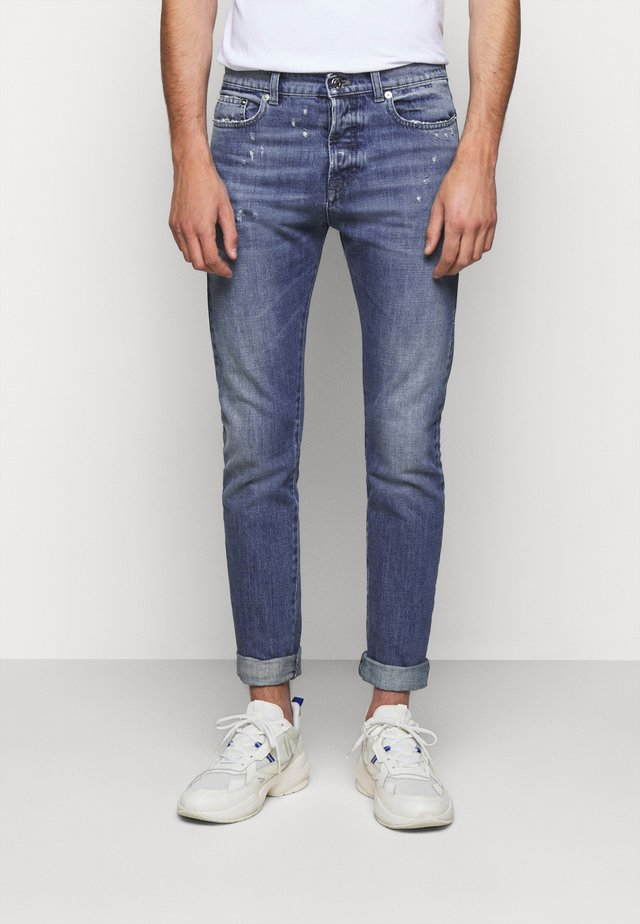 PANTALONE - Jeans slim fit -  indaco