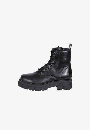 CASTLE - Platform ankle boots - schwarz