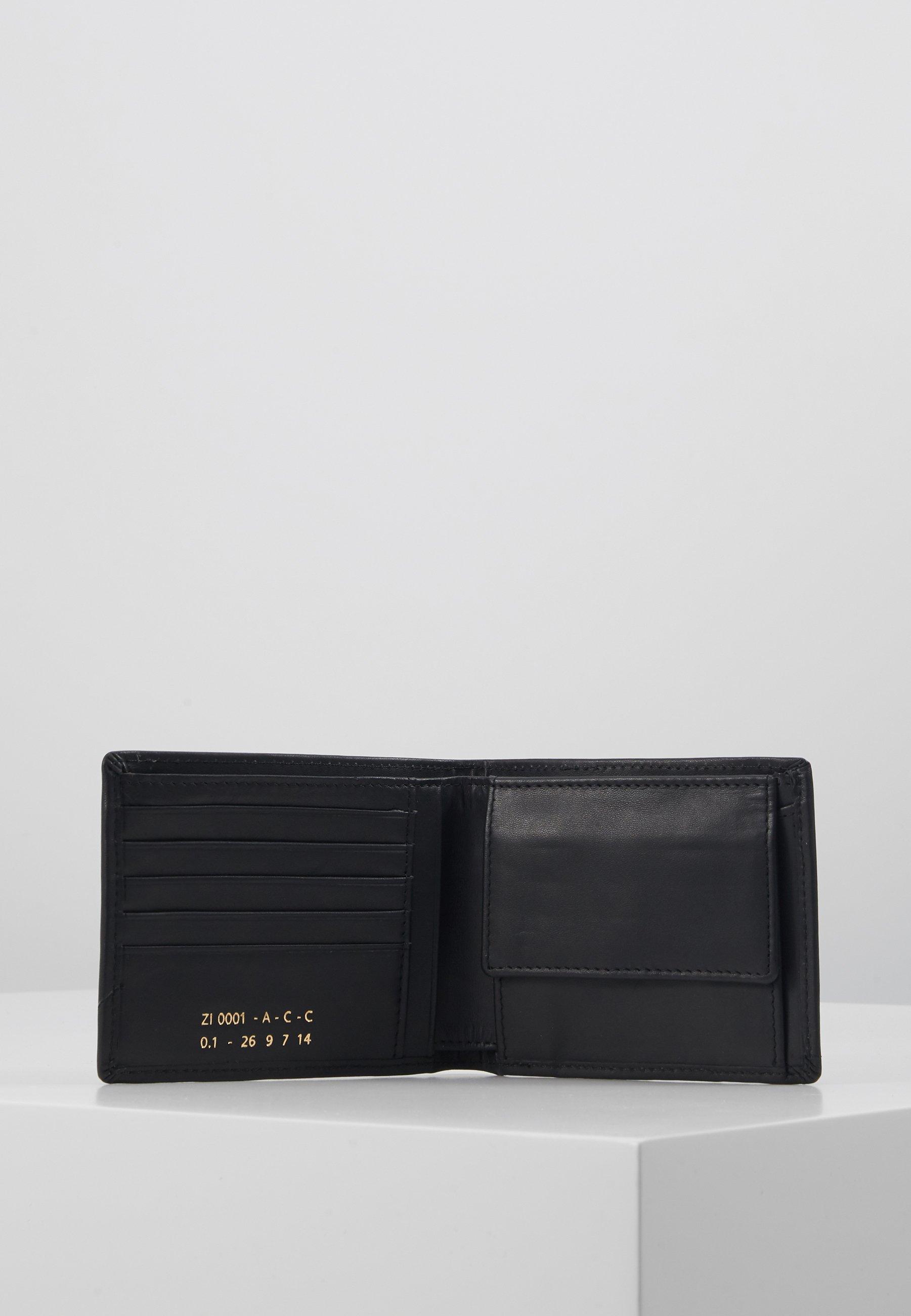 Zign LEATHER - Lommebok - black/svart uWTKWHAdHMvD8oU
