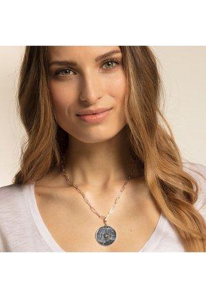 STERNZEICHEN COIN  - Pendant - silver-coloured,turquoise