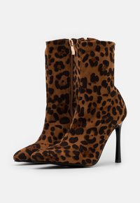 BEBO - TRINNIE - High heeled ankle boots - brown - 2