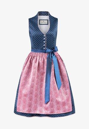 Dirndl - blau-rose