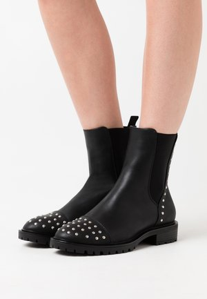 TINA  - Cowboy/biker ankle boot - black
