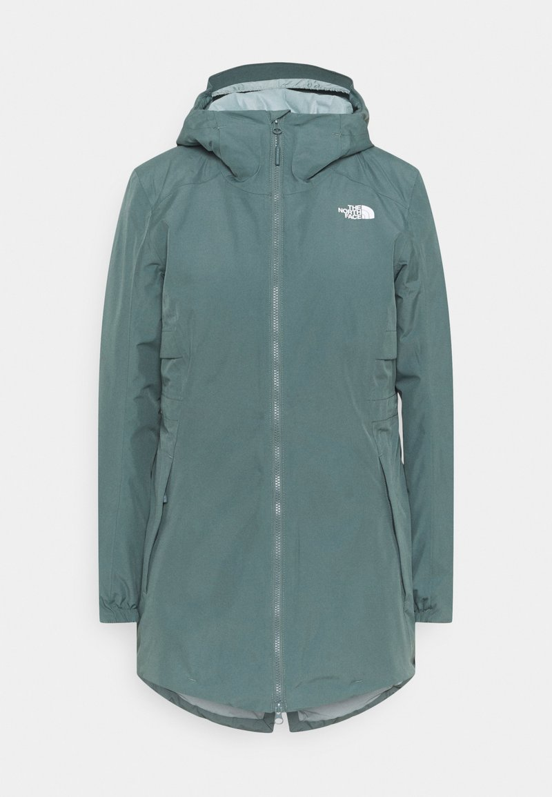 The North Face - HIKESTELLER INSULATED - Winter coat - balsam green/silver blue