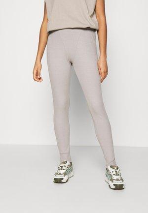 BOXER DETAIL - Leggings - Trousers - grey