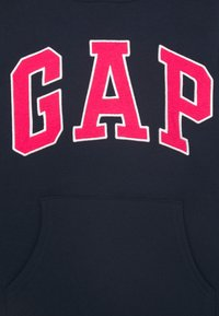 GAP - GIRLS LOGO HOOD - Jersey con capucha - blue galaxy - 2