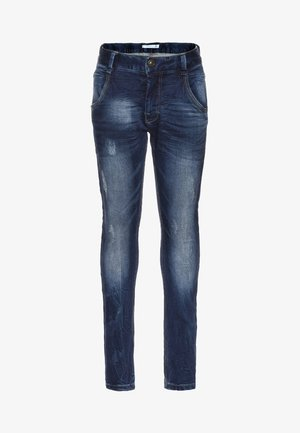 NITTINGO - Jeans Slim Fit - dirty denim