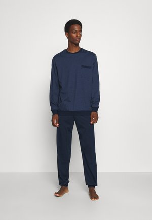 SCHLAFANZUG LANG  - Pyjama - dark blue
