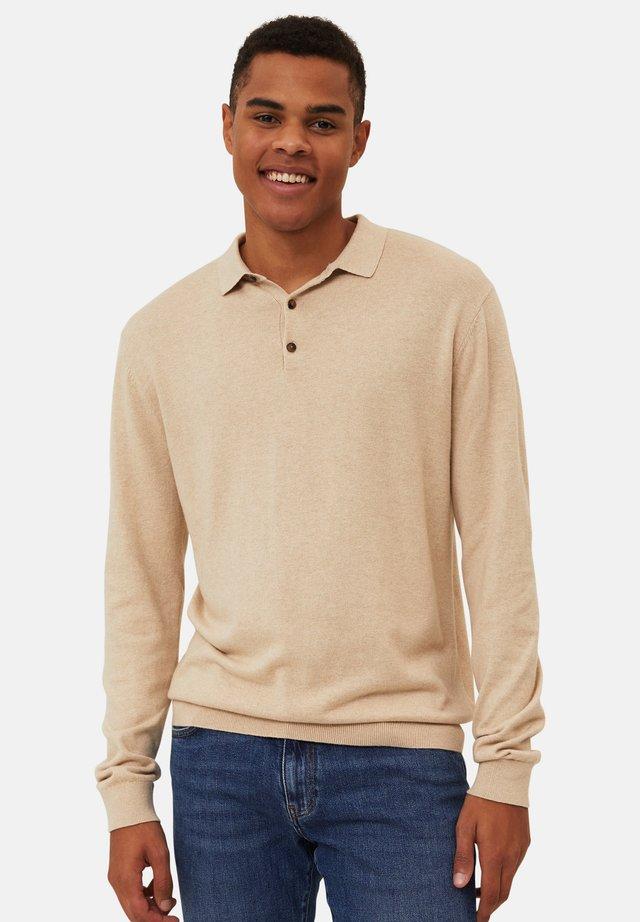 Poloskjorter - beige melange