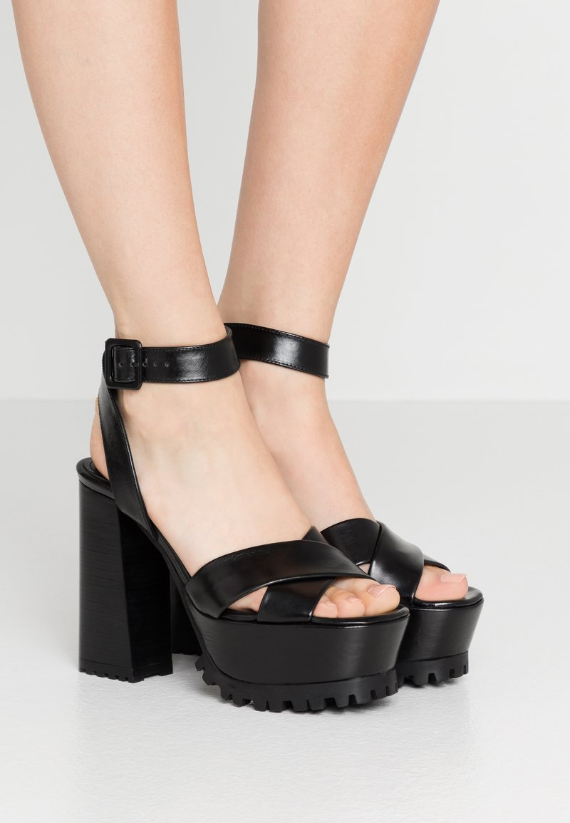 The Kooples - Sandalen met hoge hak - black