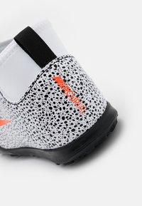 Nike Performance - MERCURIAL 7 CLUB CR7 TF - Astro turf trainers - white/total orange/black - 5