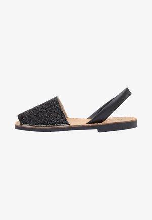 JUNA - Sandals - black