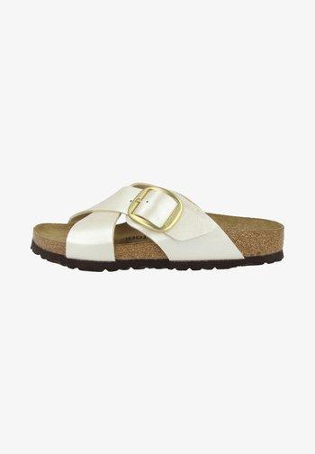 SIENA - Pantofle - graceful pearl white
