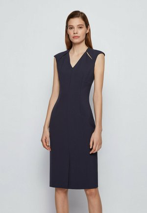 DULIPA - Shift dress - open blue