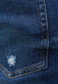 Bershka - MIT RISSEN  - Jeans Skinny Fit - blue - 5