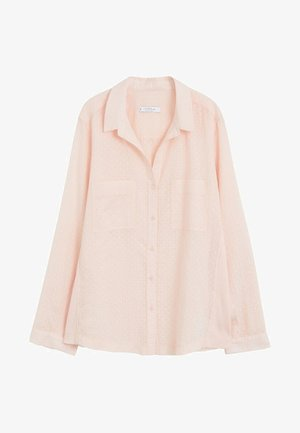 PLANAF6 - Button-down blouse - nude