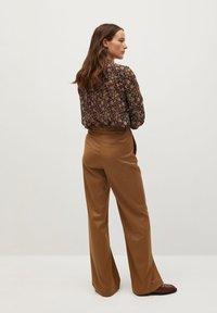 Mango - CHICAGO - Button-down blouse - braun - 2