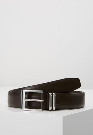 DOUBLE KEEPER - Formální pásek - brown