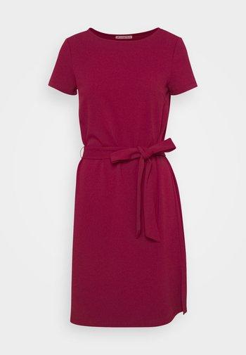 Jersey dress - dark red