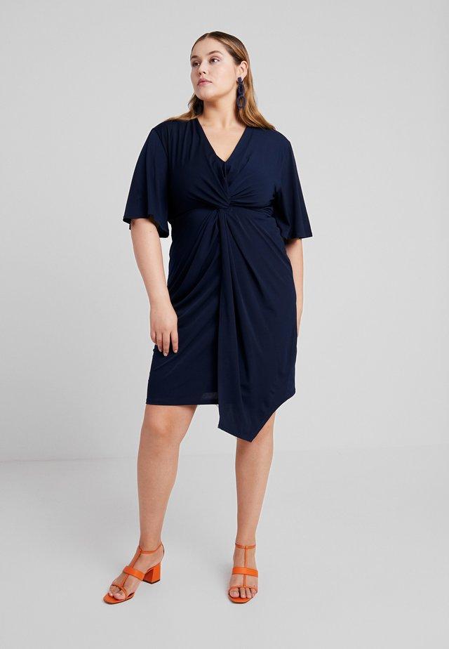 KNOT - Jersey dress - navy