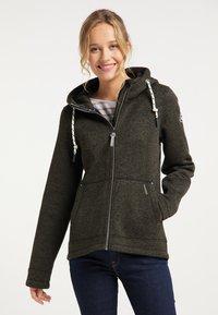 Schmuddelwedda - Light jacket - oliv melange - 0