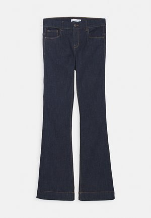 NKFPOLLY DNMTEJAS BOOT PANT - Flared jeans - dark blue denim