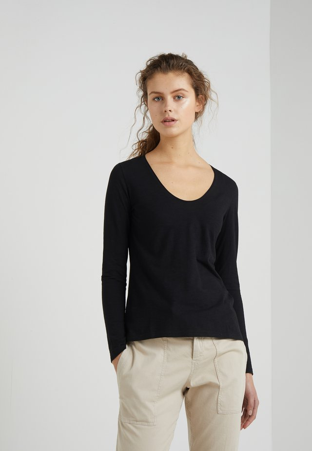 ALESA - Long sleeved top - black